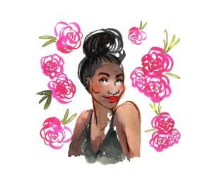 carefree black woman